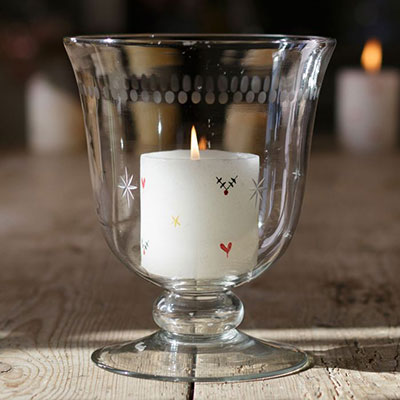 Pillar Candles & Hurricane Vases